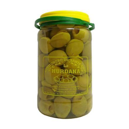 Grüne Oliven Gordal entkernt