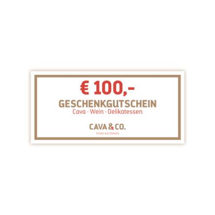 € 100,- Geschenkgutschein