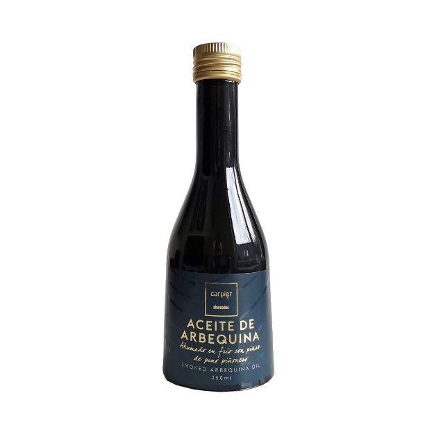 Geräuchertes Öl, Flasche 250ml von Carpier