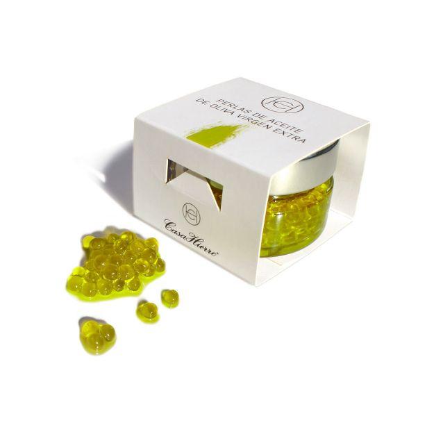 Olivenöl Perlen Olivenöl Kaviar Casa Hierro