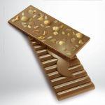 Schokolade 32% mit Karamell und Haselnüssen von Rafa Gorrotxategi
