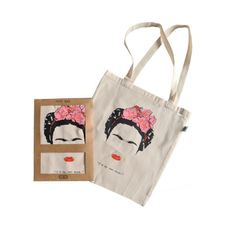 Tote Bag Muse Frieda Kahlo