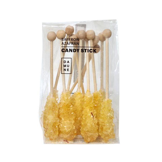 Candy Sticks Azafrán - Zuckerstangen mit Safran von Damune