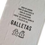 Geschirrtuch GALLETAS aus BIO Baumwolle von Rewinder