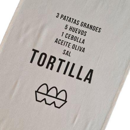Geschirrtuch TORTILLA aus BIO Baumwolle von Rewinder