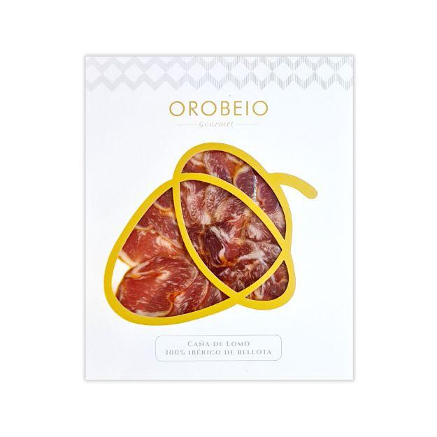 Lomo Ibérico de Bellota 100% maschinengeschnitten von Orobeio