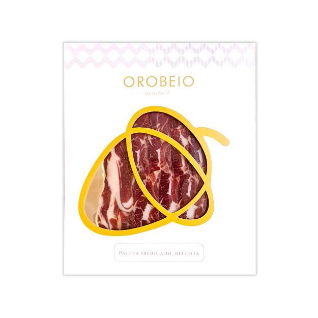 Jamón Ibérico de Bellota 100% maschinengeschnitten von Orobeio