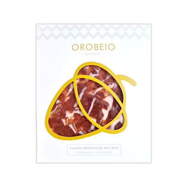 Jamón Ibérico de Bellota 100% handgeschnitten von Orobeio