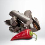 Schokolade 80% mit Piment d'Espelette von Rafa Gorrotxtagei